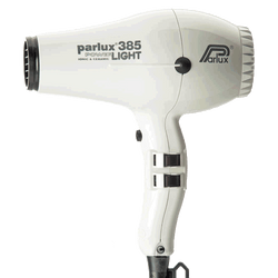 Parlux 385 Powerlight Ceramic and Ionic Hair Dryer | White