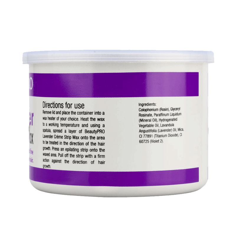 BeautyPRO Lavender Creme Strip Wax | 425g