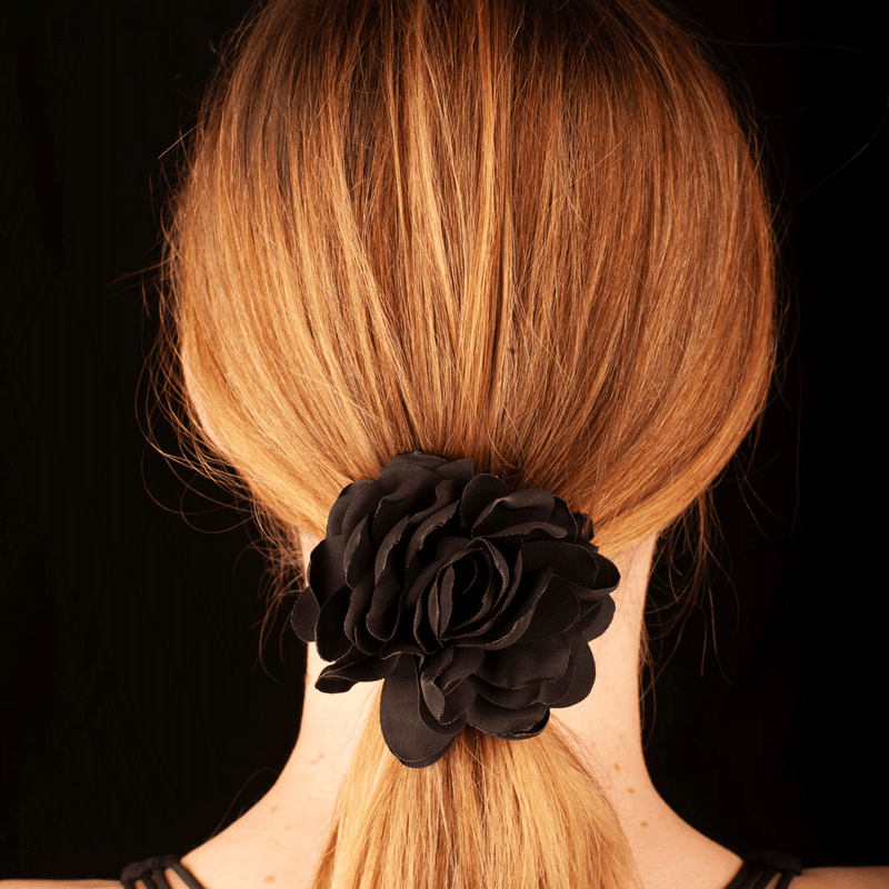 Rose Hair Elastic | Black