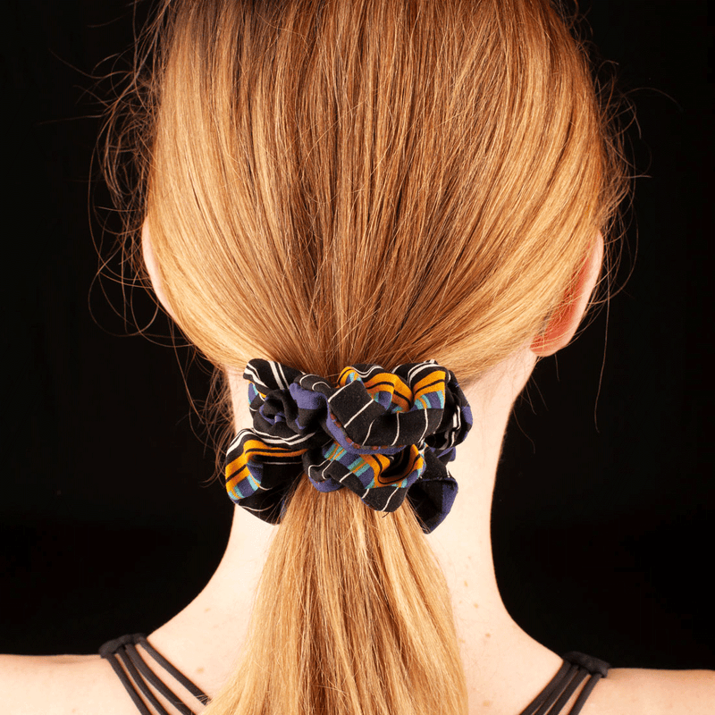 Scrunchies  | Made In Australia | Carnival Stripe Orleans