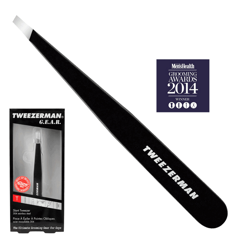 Tweezerman Gear Slant Tweezer | Black