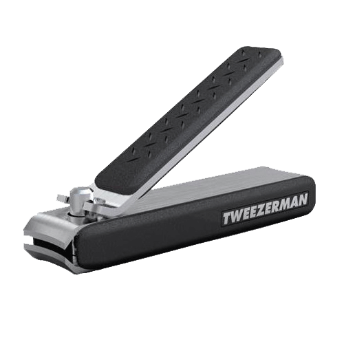 Tweezerman Gear Precision Grip Fingernail Clipper | Stainless Steel