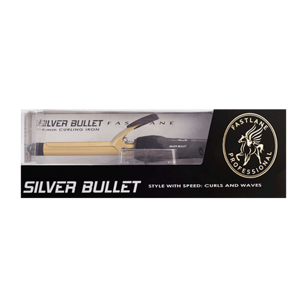 Silver Bullet Fastlane Ceramic Curling Iron | Gold | 19mm