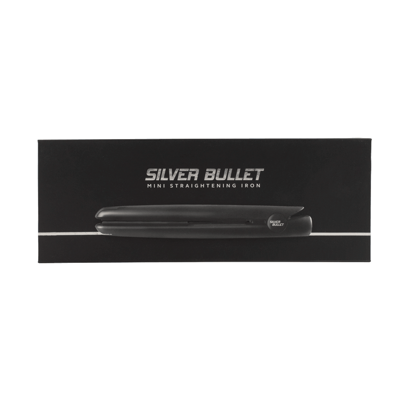 Silver Bullet Mini Hair Straightener | Black