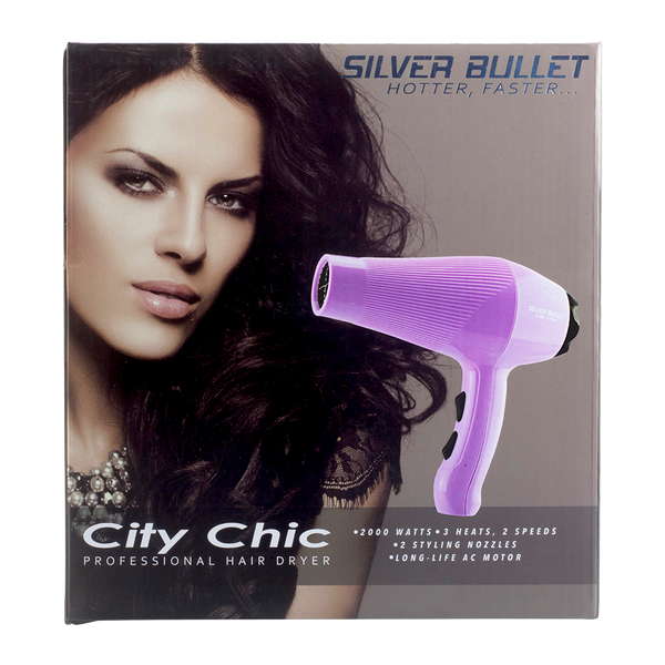 Silver Bullet Chic Chic Hair Dryer | Lilac