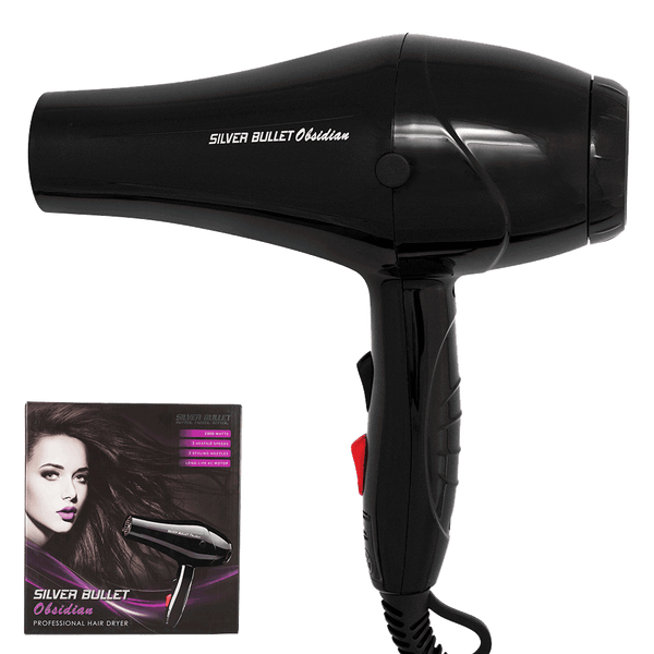 Silver Bullet Obsidian Hair Dryer | Black