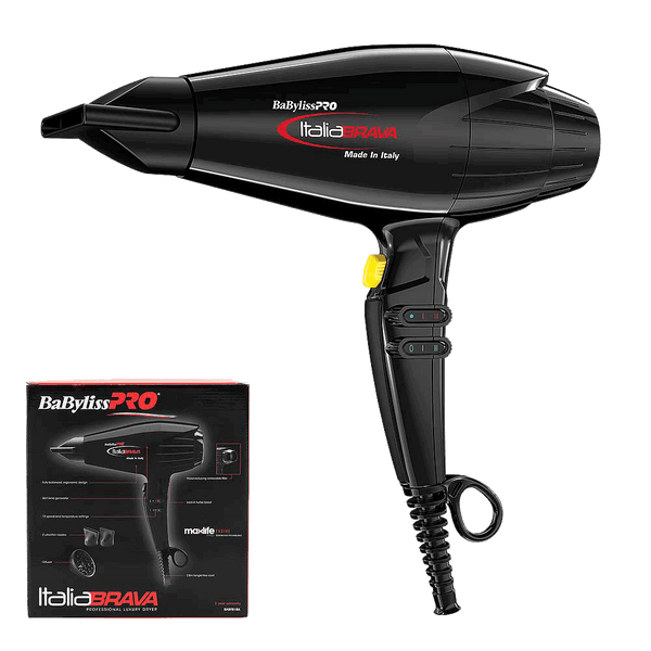 BaBylissPRO Italia Hair Dryer  |  Black