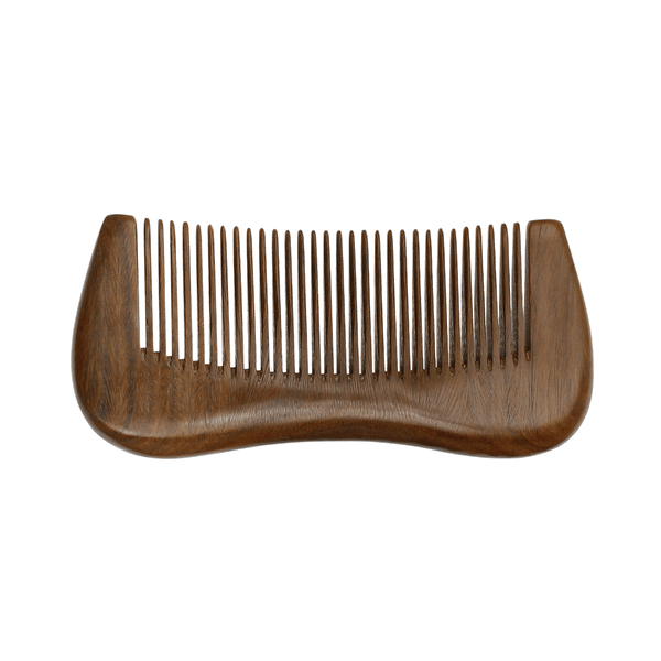 Chloe Natural Sandalwood Fine Tooth Comb