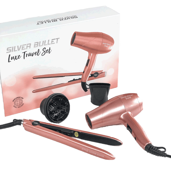 Silver Bullet Luxe Travel Set  |  Rose Gold