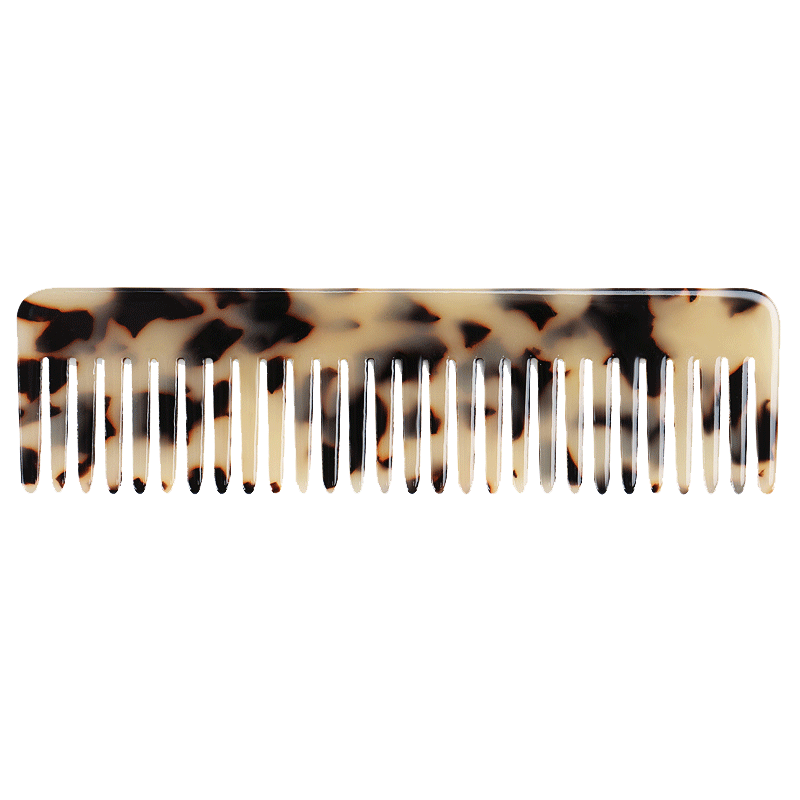 Peta Pocket Comb | Light Tortoise Shell