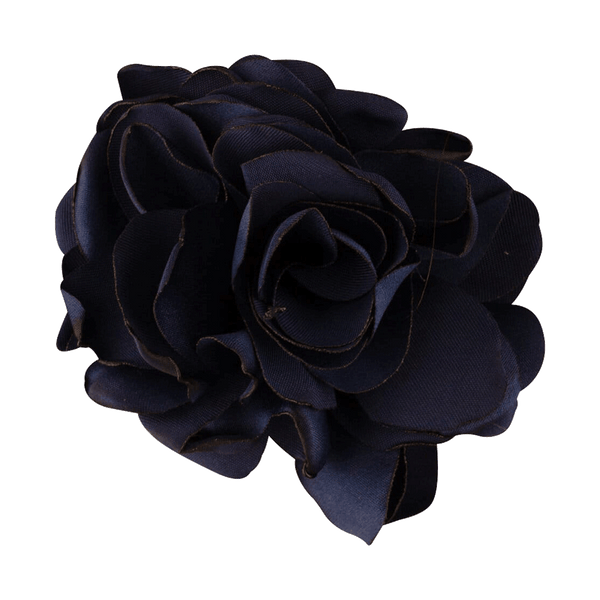 Rose Hair Elastic | Navy