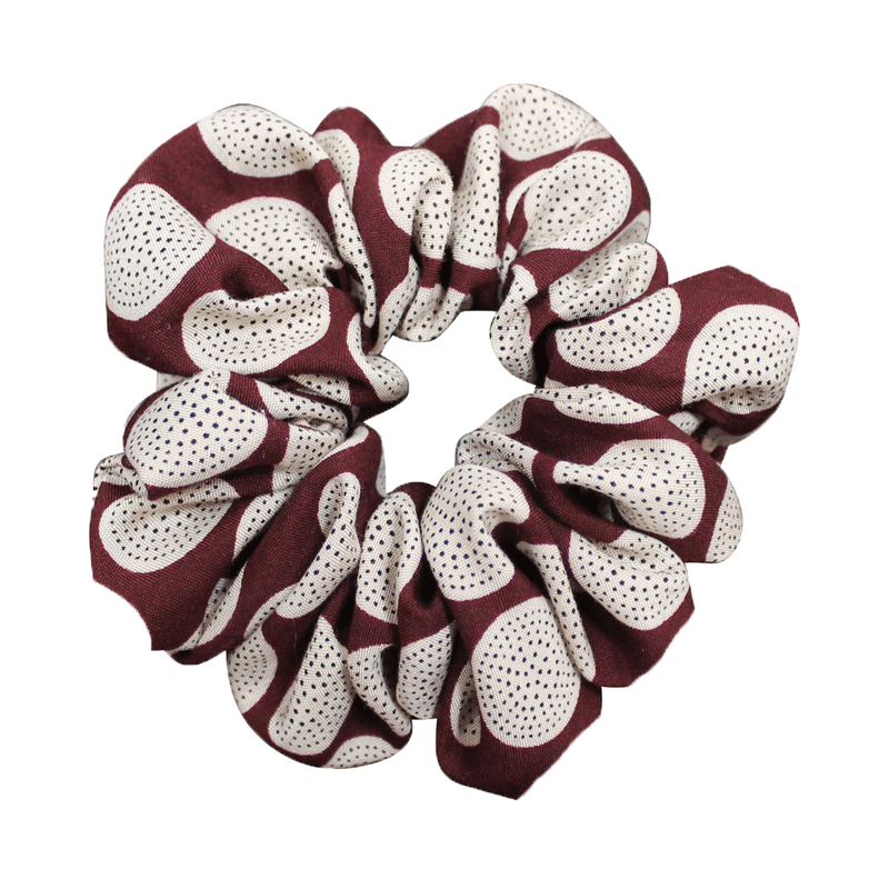 Scrunchies  | Made In Australia | Burgundy Circle