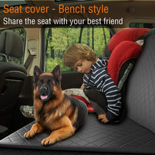 Load image into Gallery viewer, Waterproof Pet Backseat Hammock + FREE Elastic Dog Safety Belt