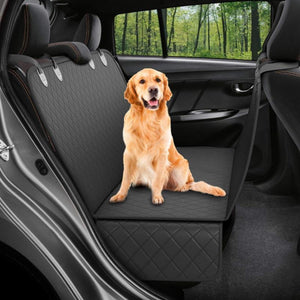 Waterproof Pet Backseat Hammock + FREE Elastic Dog Safety Belt