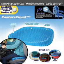 Load image into Gallery viewer, PostureCloud Spinal Alignment Comfort Cushion