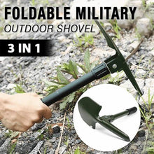 Load image into Gallery viewer, Foldable Military Outdoor Shovel