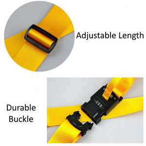 Luggage Strap With Electronic Scale & Lock (TSA approved)