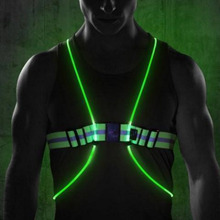 Load image into Gallery viewer, 360° Reflective LED Outdoor Activity Vest
