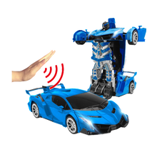Load image into Gallery viewer, Ultra-Sensing Transformer RC Car