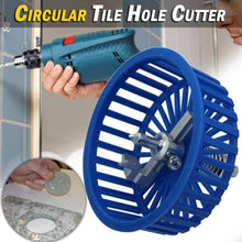 Load image into Gallery viewer, Circular Tile Hole Cutter (40-100mm)
