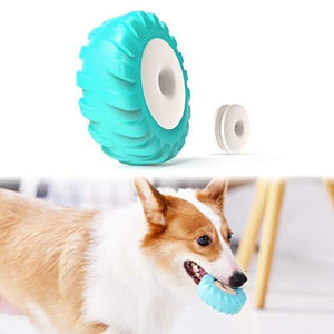 Dog Toothbrush with Teething Biscuit