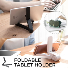 Load image into Gallery viewer, Foldable Tablet Holder