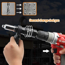 Load image into Gallery viewer, Cordless Electric Rivet Gun Adapter