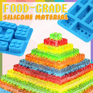Lego Block Silicone Mold 🔥 FLASH DEAL All Set 50% OFF