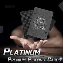 Load image into Gallery viewer, Platinum Premium Playing Cards