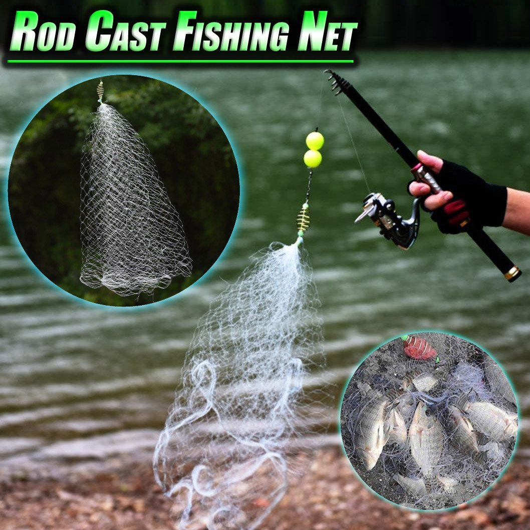 Rod Cast Fishing Net