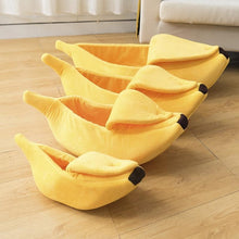Load image into Gallery viewer, Banana Cat Bed