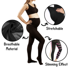 Load image into Gallery viewer, Ultra Flexi Maternity Leggings