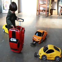 Load image into Gallery viewer, Kids Car Trolley Luggage