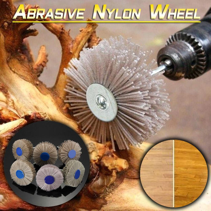Abrasive Nylon Wheel