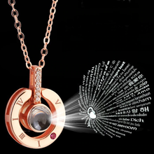 Load image into Gallery viewer, Valentine's Projection Necklace