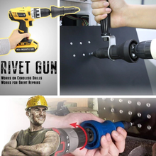 Load image into Gallery viewer, Detachable Rivet Gun Drill Adapter