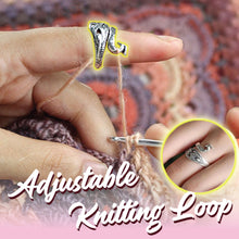 Load image into Gallery viewer, Adjustable Knitting Loop