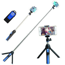 Load image into Gallery viewer, Heavy Duty 3-in-1 Selfie Stick