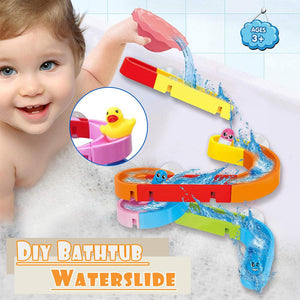 DIY Bathtub Waterslide