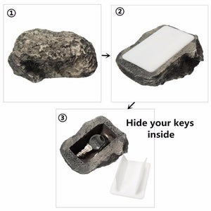 Hidden Rock Key Box
