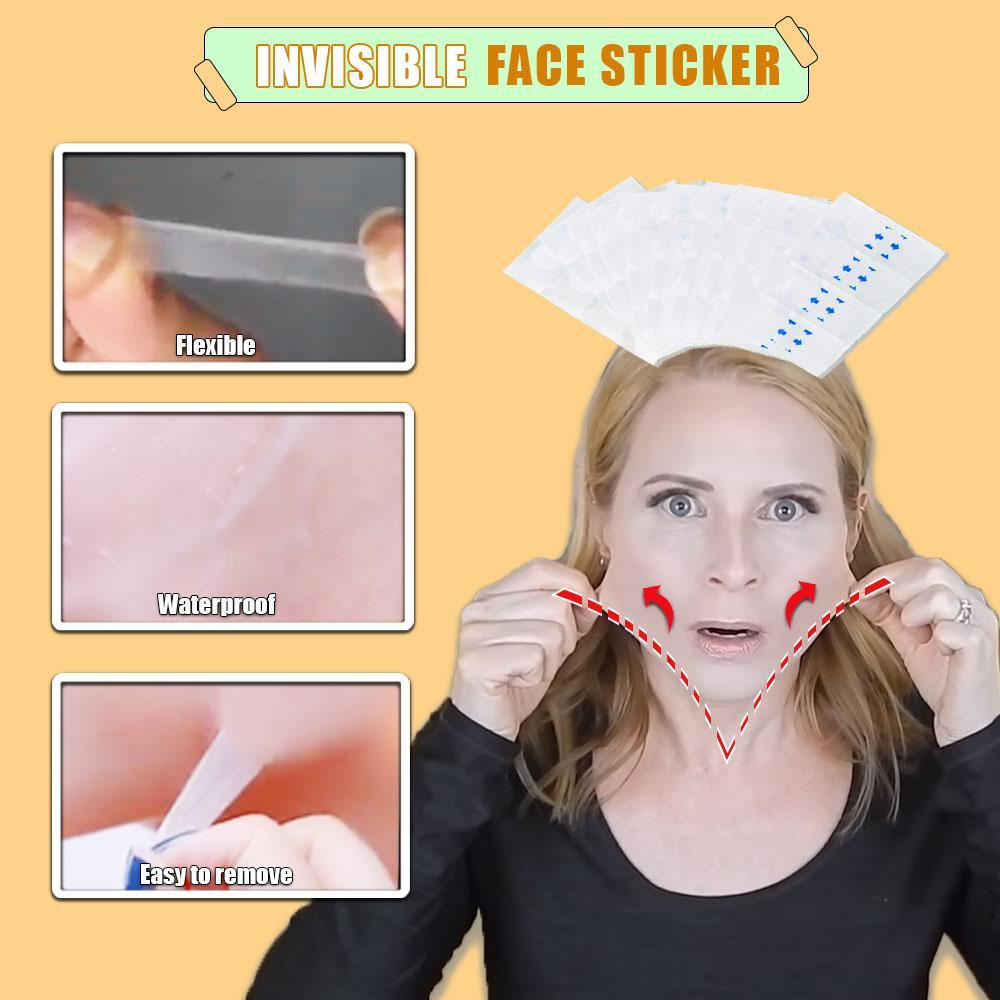 Invisible Face Sticker