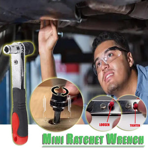 Mini Ratchet Wrench