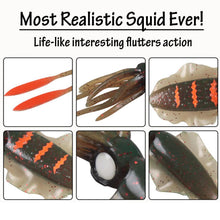 Load image into Gallery viewer, Squidy Soft Lure (Pack Of 3)