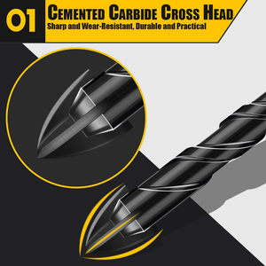 Cross Head Drill Bit