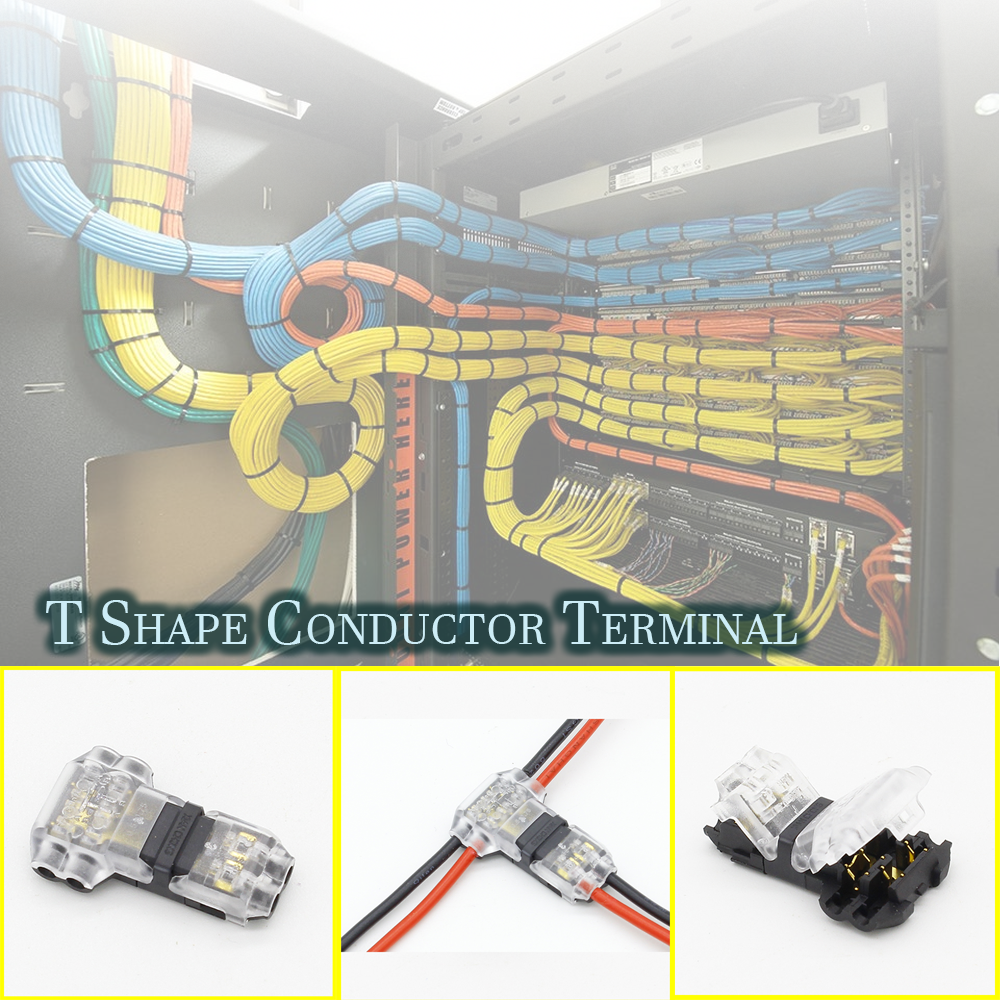 T-SHAPE Conductor Terminal