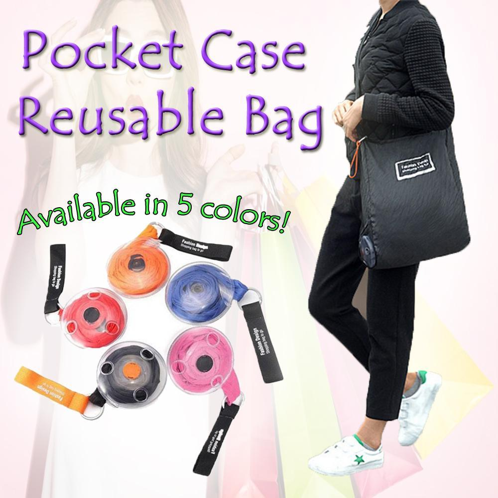 Pocket Case Reusable Bag