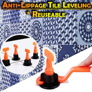 Anti-Lippage Tile Leveling (Reusable)