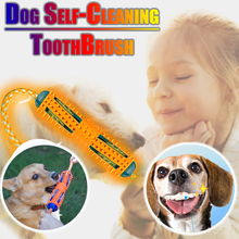 Load image into Gallery viewer, Dog Self-Cleaning ToothBrush