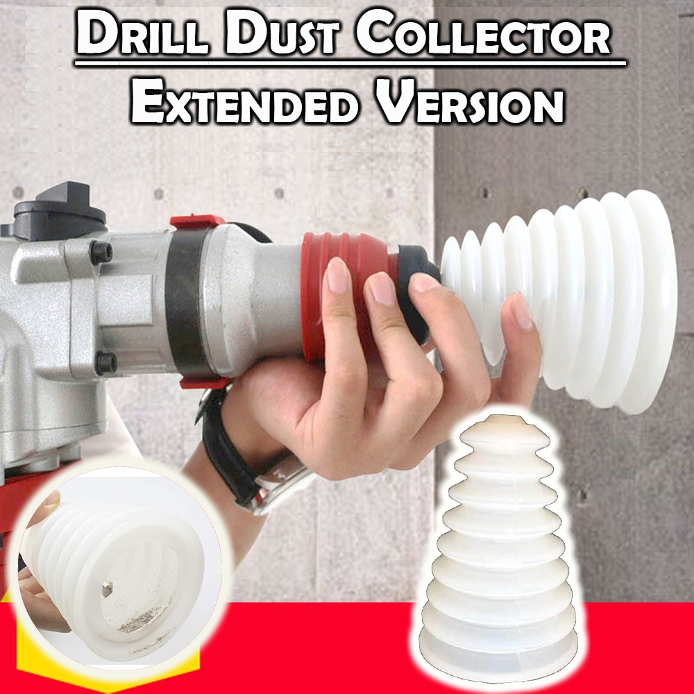 Drill Dust Collector - Extended Version