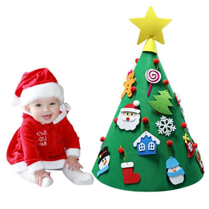 3D DIY Felt Christmas Tree (Best Gift For Children)